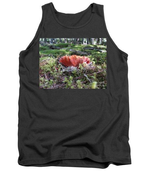 Lobster Mushroom Tank Top