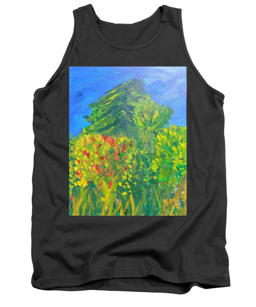 Local Trees Tank Top by David Trotter
