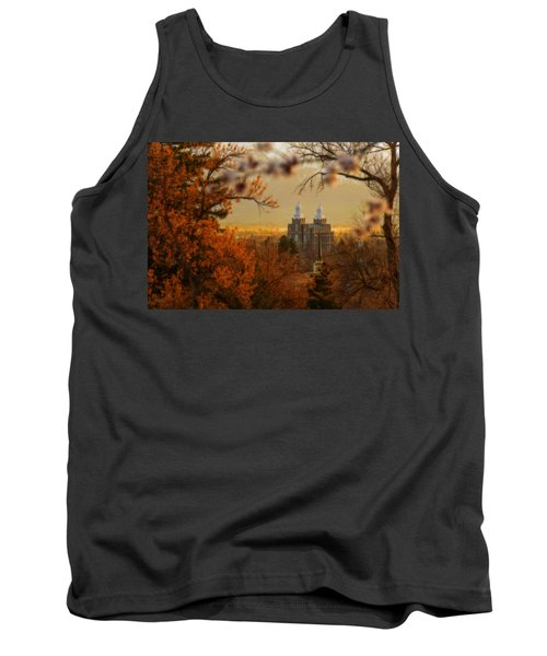 Tank Top featuring the photograph Logan Temple by Dustin  LeFevre