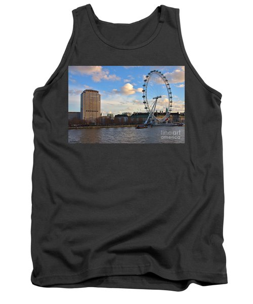 London Eye And Shell Building Tank Top