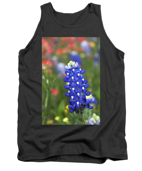 Lone Bluebonnet Tank Top