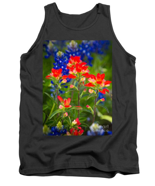 Lone Star Blooms Tank Top