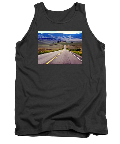 Tank Top featuring the photograph Lonely Road by Antonia Citrino