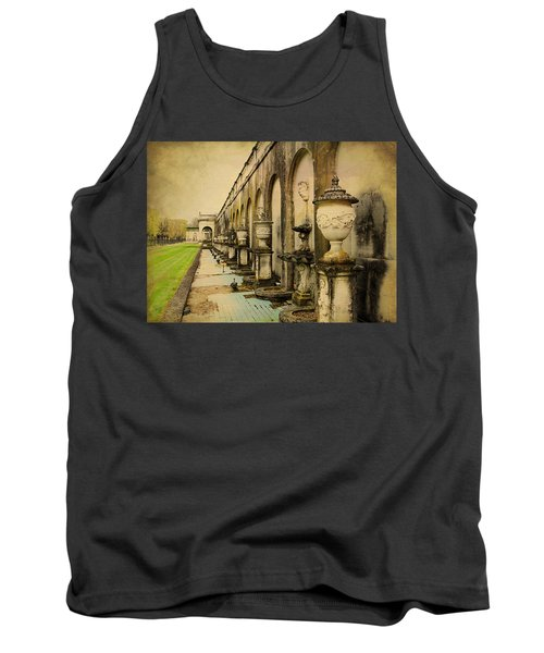 Tank Top featuring the photograph Longwood Gardens Fountains by Trina  Ansel
