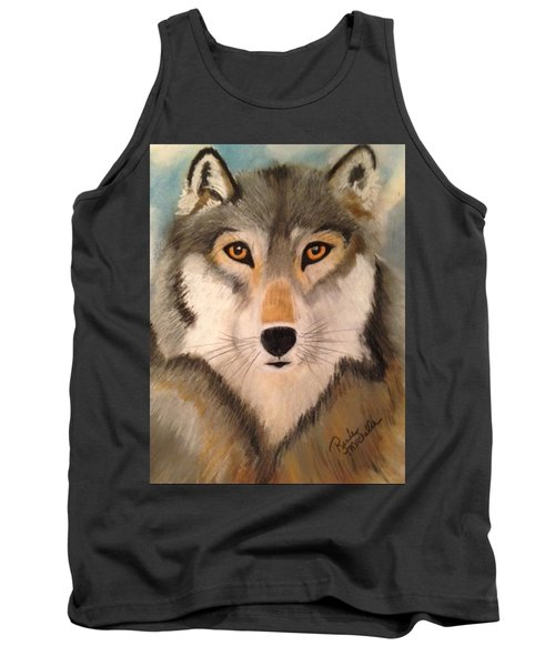 Looking At A Timber Wolf Tank Top