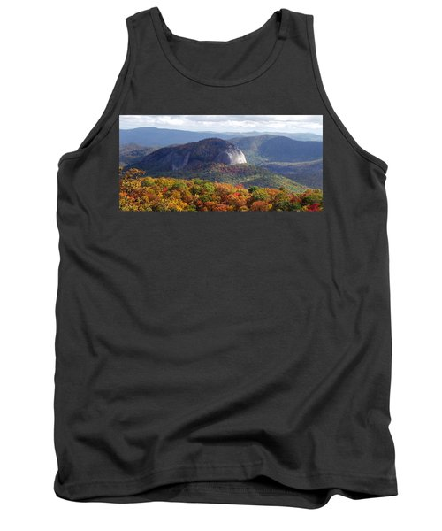 Looking Glass Rock And Fall Folage Tank Top