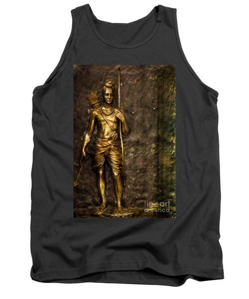 Lord Sri Ram Tank Top by Kiran Joshi