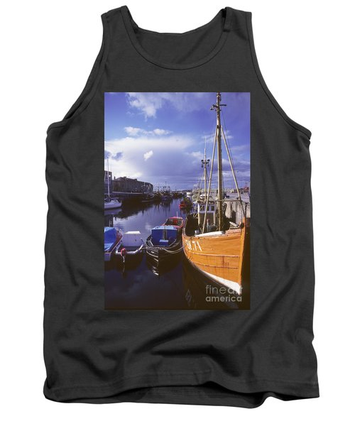 Tank Top featuring the photograph Lossiemouth Harbour - Scotland by Phil Banks