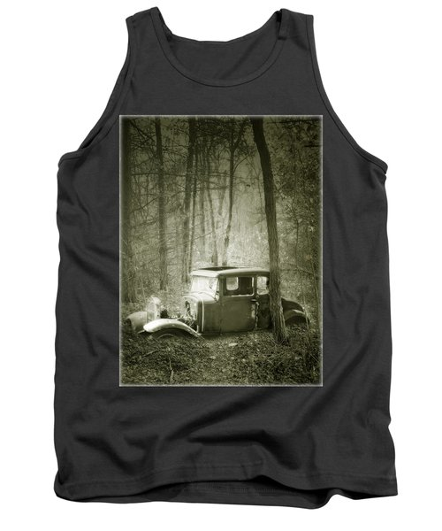 Lost In The Woods Tank Top