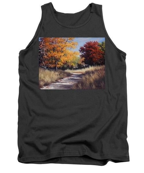 Lost Maples Trail Tank Top by Kyle Wood