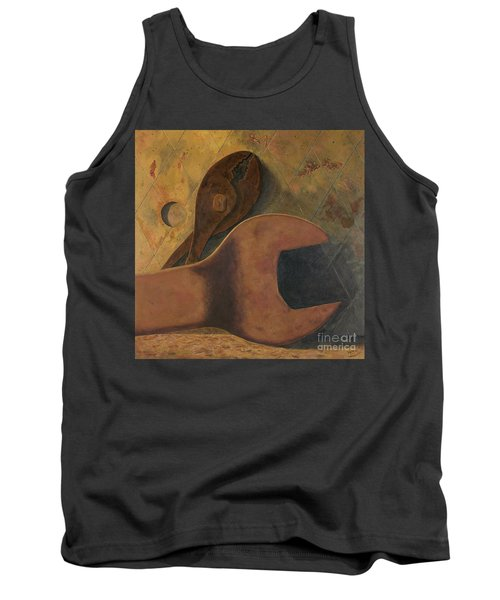 Lost Tools Tank Top by Garry McMichael