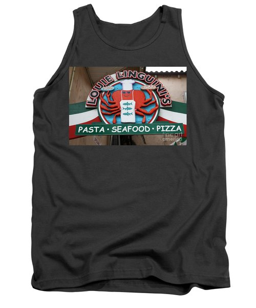 Louie Linguinis On Monterey Cannery Row California 5d24772 Tank Top