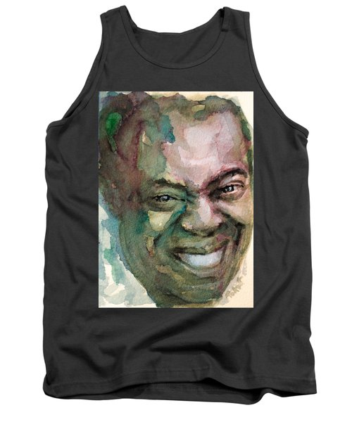 Louis Armstrong Tank Top by Laur Iduc