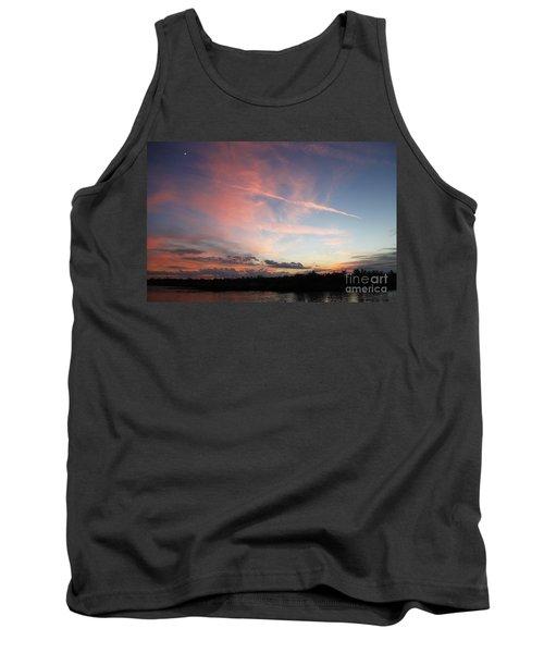Louisiana Sunset In Lacombe Tank Top by Luana K Perez