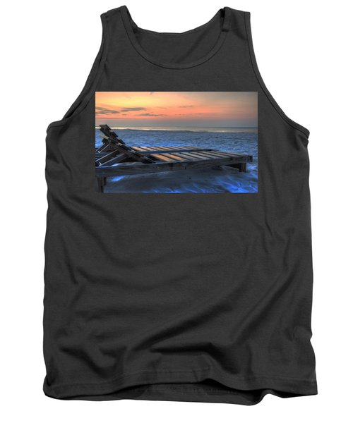 Lounge Closeup On Beach ... Tank Top