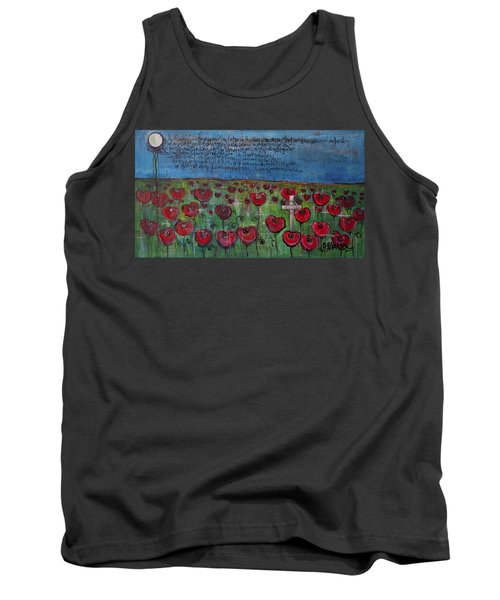 Love For Flanders Fields Poppies Tank Top