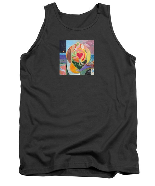 Love Is Love Tank Top by Helena Tiainen