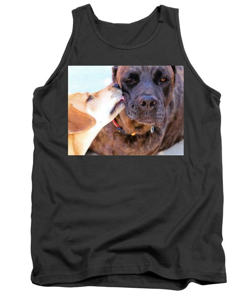 Tank Top featuring the photograph Love Licks by Janice Rae Pariza