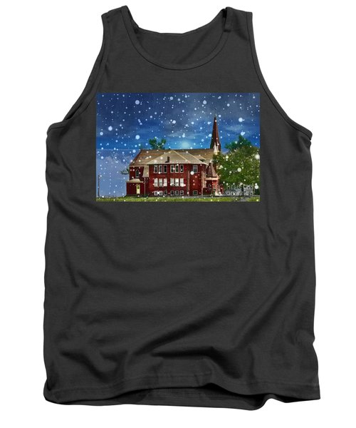 Tank Top featuring the photograph Lovely Country Church by Liane Wright