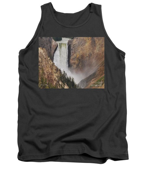 Lower Falls - Yellowstone Tank Top by Mary Carol Story