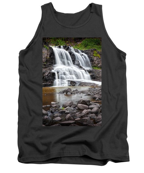 Lower Gooseberry Falls Tank Top by Randall Nyhof