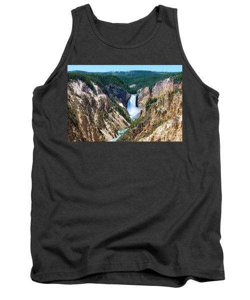 Lower Yellowstone Falls Tank Top