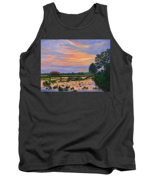 Loxahatchee Sunset Tank Top