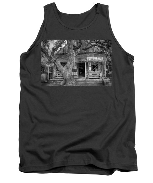 Luckenbach 2 Black And White Tank Top