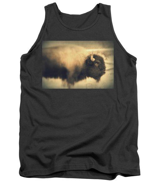 Lucky Yellowstone Buffalo Tank Top by Lynn Sprowl