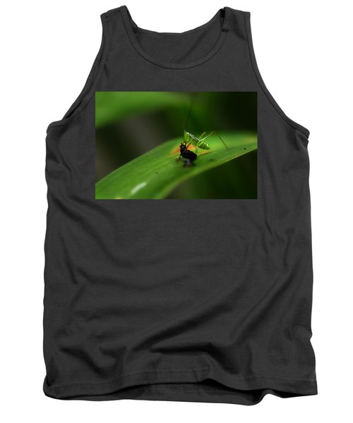Lunch Time Tank Top by Michael Eingle