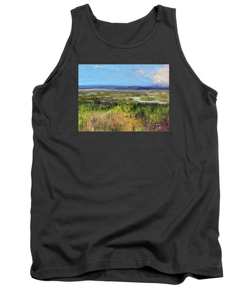 Lupine Of Fort Hill Tank Top