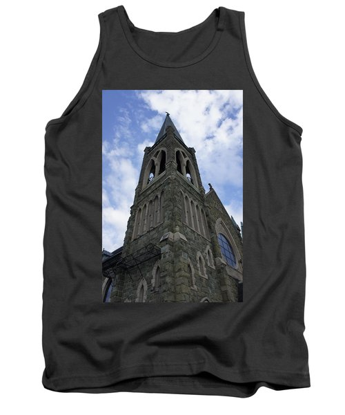 Tank Top featuring the photograph Luray Chapel by Laurie Perry