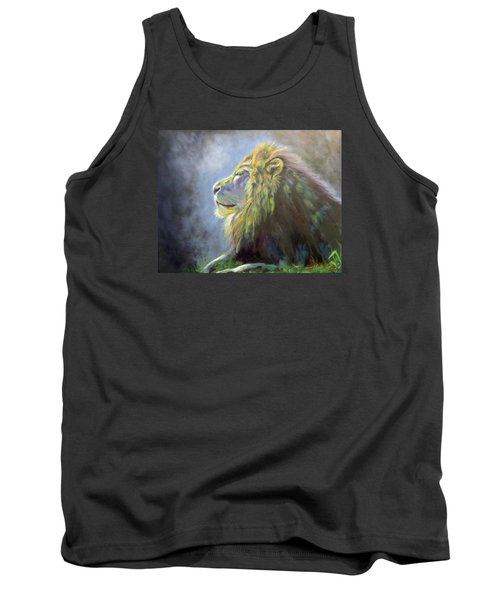 Lying In The Moonlight, Lion Tank Top
