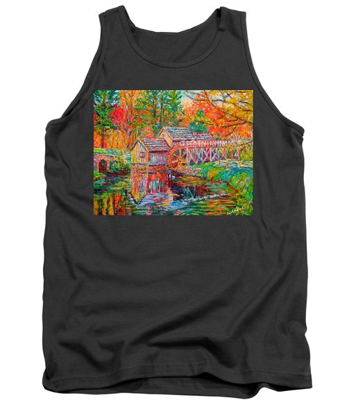 Mabry Mill In Fall Tank Top