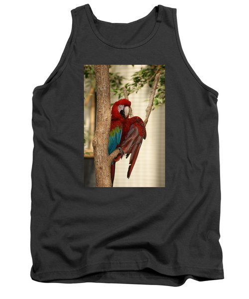 Tank Top featuring the photograph Maccraw  by Heidi Poulin