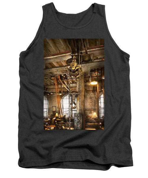 Machinist - In The Age Of Industry Tank Top