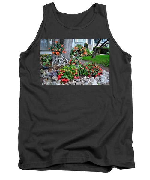 Mackinac Island Garden Tank Top