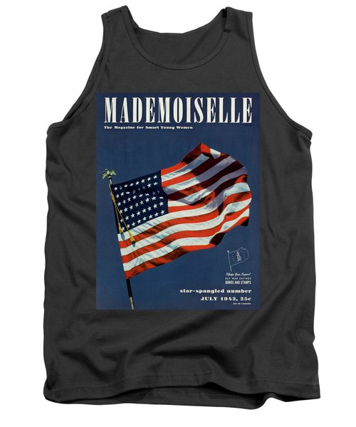 Mademoiselle Cover Featuring The U.s. Flag Tank Top