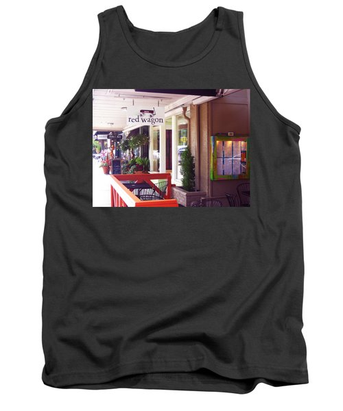 Madison Valley Street Scene 1 Tank Top by David Trotter