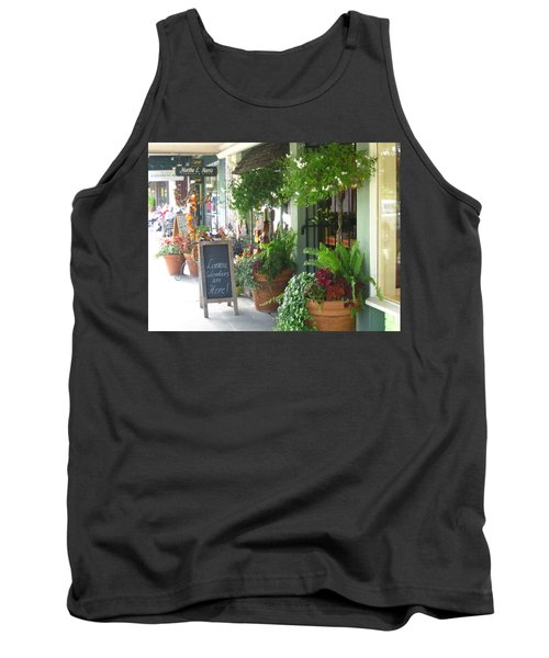 Madison Valley Street Scene 2 Tank Top by David Trotter