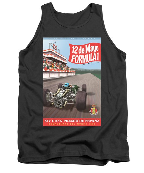 Madrid Grand Prix 1968 Tank Top