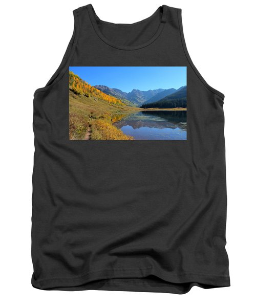 Magical View Tank Top by Fiona Kennard