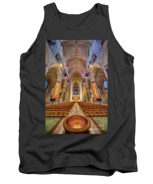 Magnificent Cathedral V Tank Top