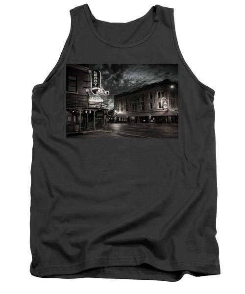 Main And Exchange Bw Tank Top