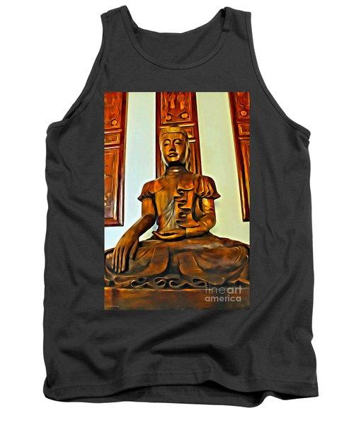 Majestic Buddha Tank Top