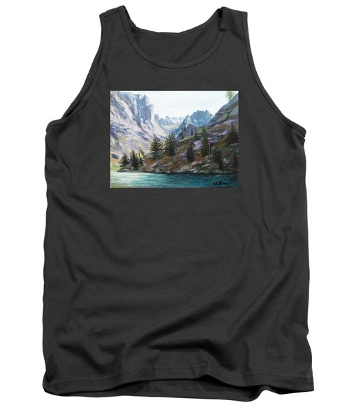Majestic Montana Tank Top by Patti Gordon