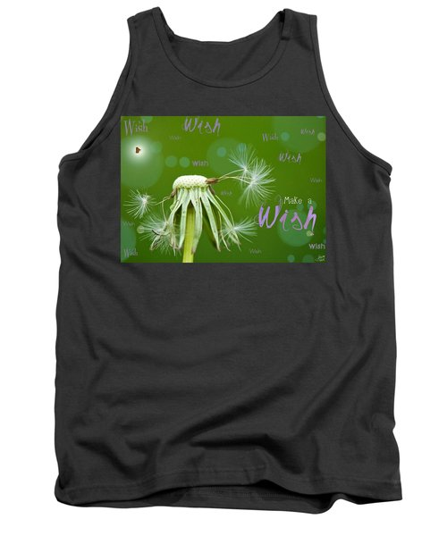 Make A Wish Card Tank Top
