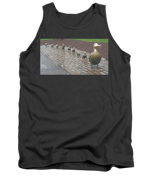 Make Way For Ducklings Tank Top