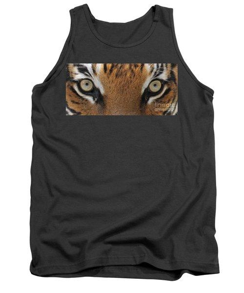 Malayan Tiger Eyes Tank Top