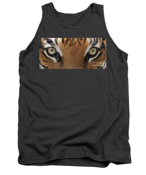 Malayan Tiger Eyes Tank Top